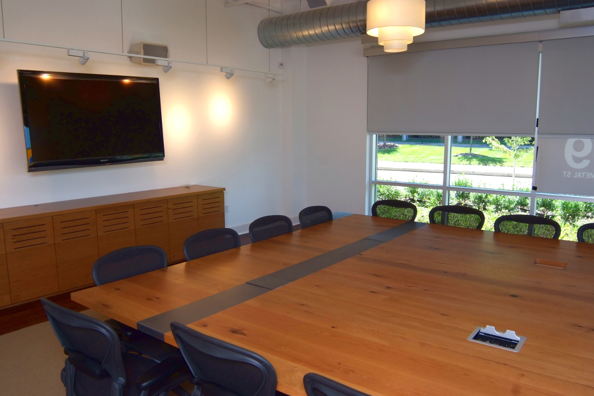 conference room with table