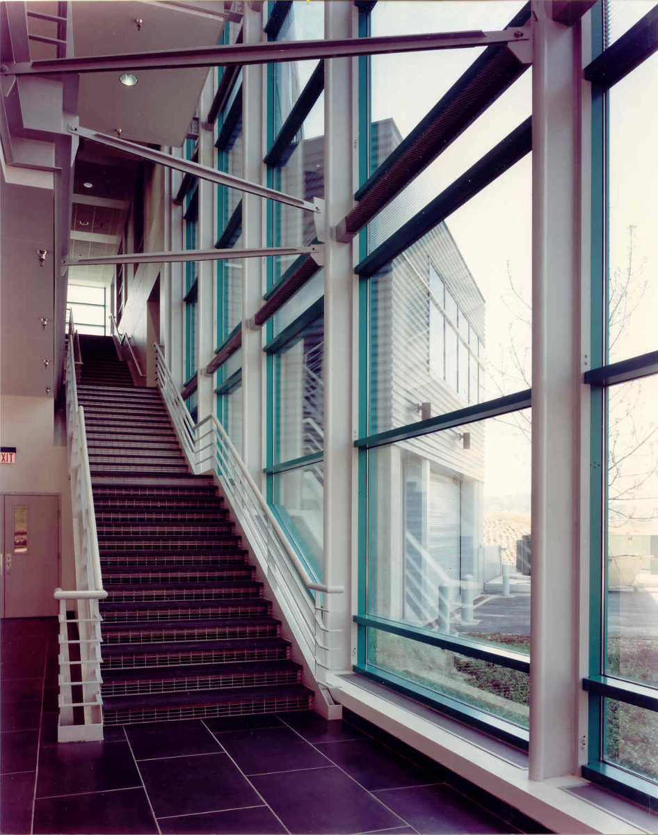 Biotechnical Center Stairwell