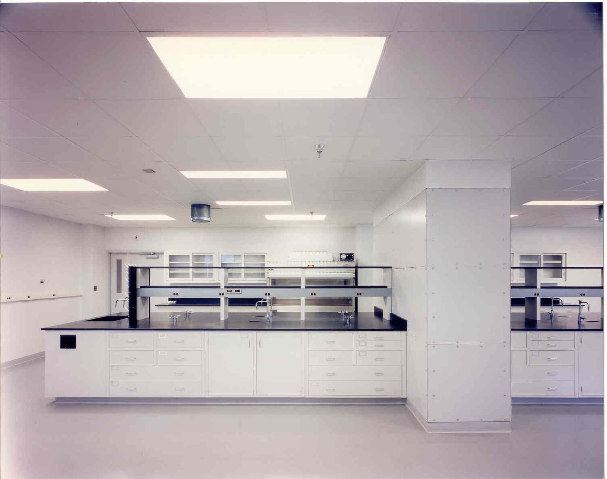 Lab Space, Counters, Cabinets