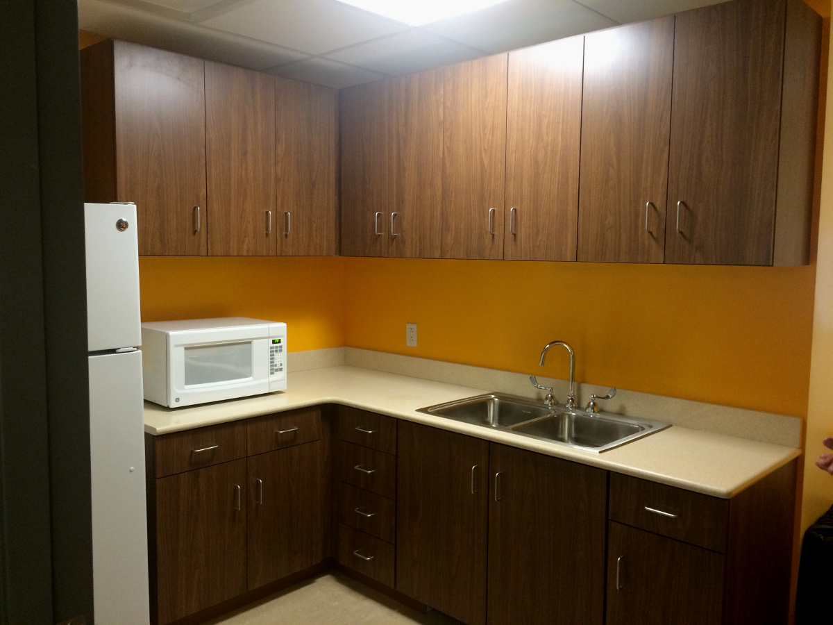Student Kitchen Yellow