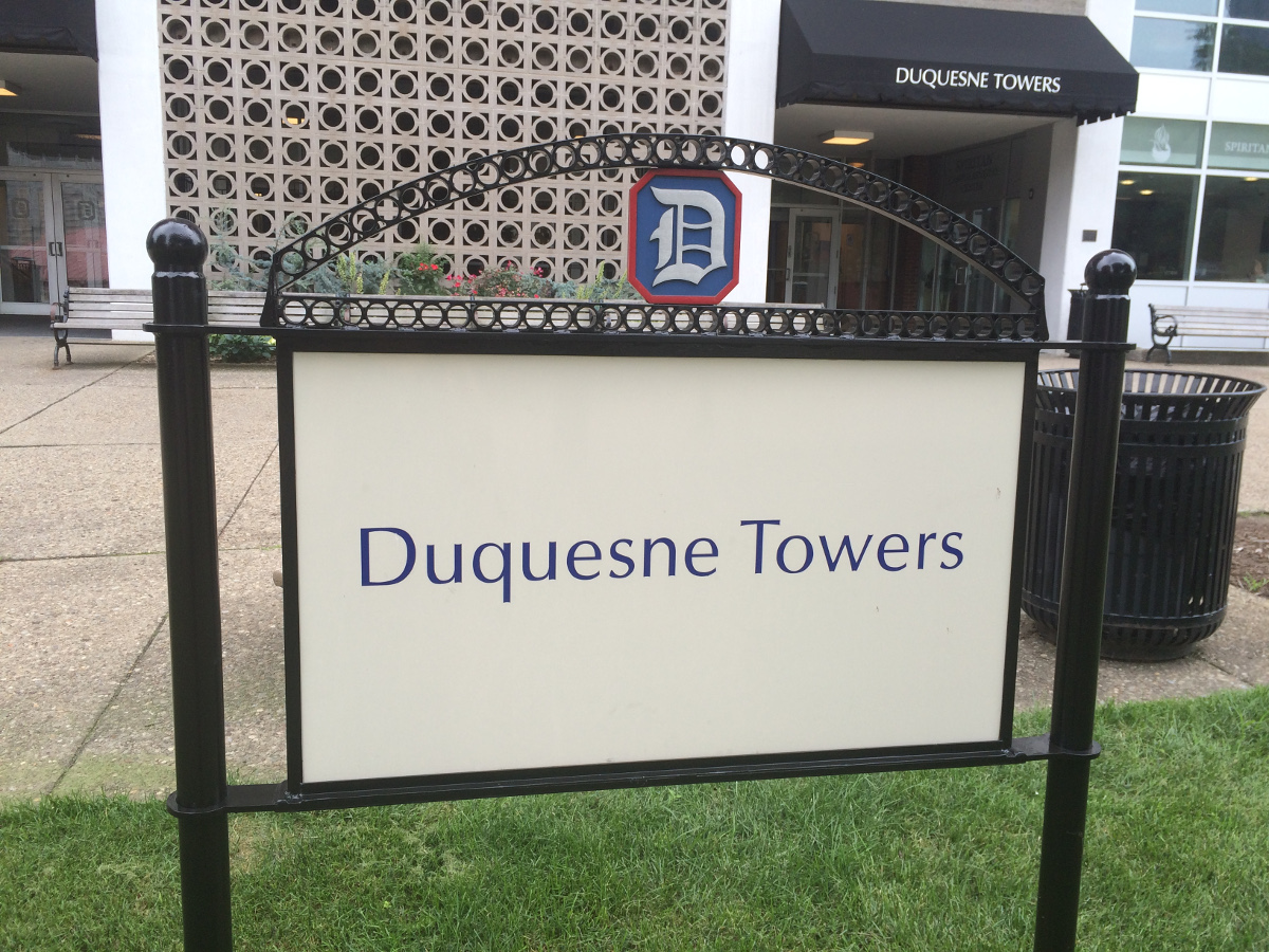 Duquesne Towers Sign