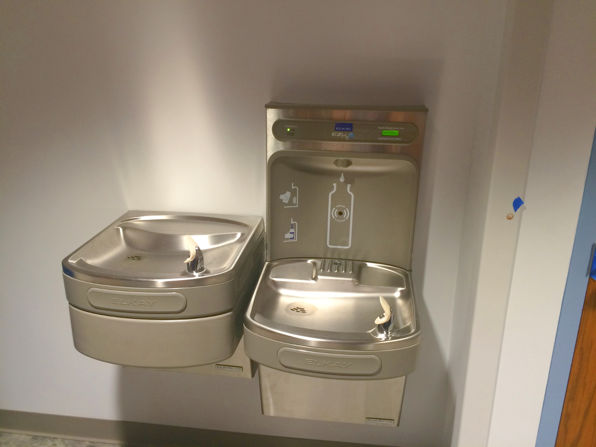 Water Bottle Refill Station