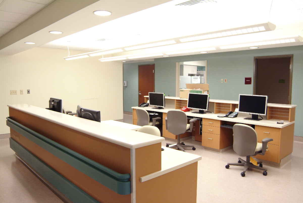 St. Clair Hospital Nurse Station Computer Hub