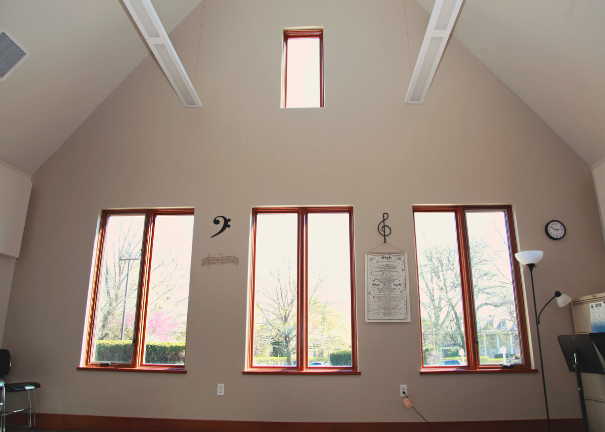Music Room windows