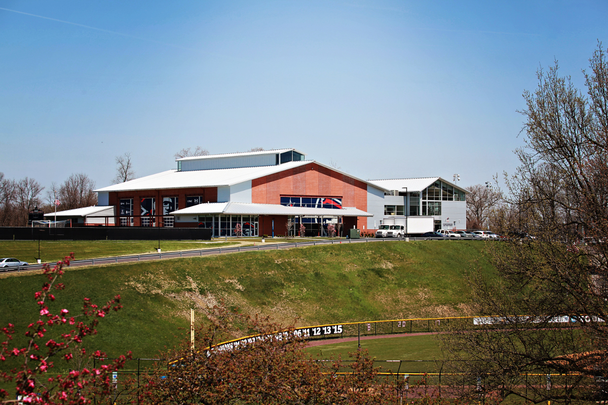 RMU Student Rec Center Full View