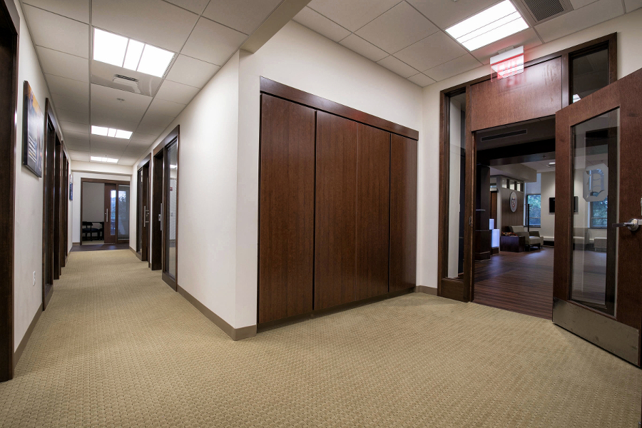 Admissions Counselor Offices Hallway