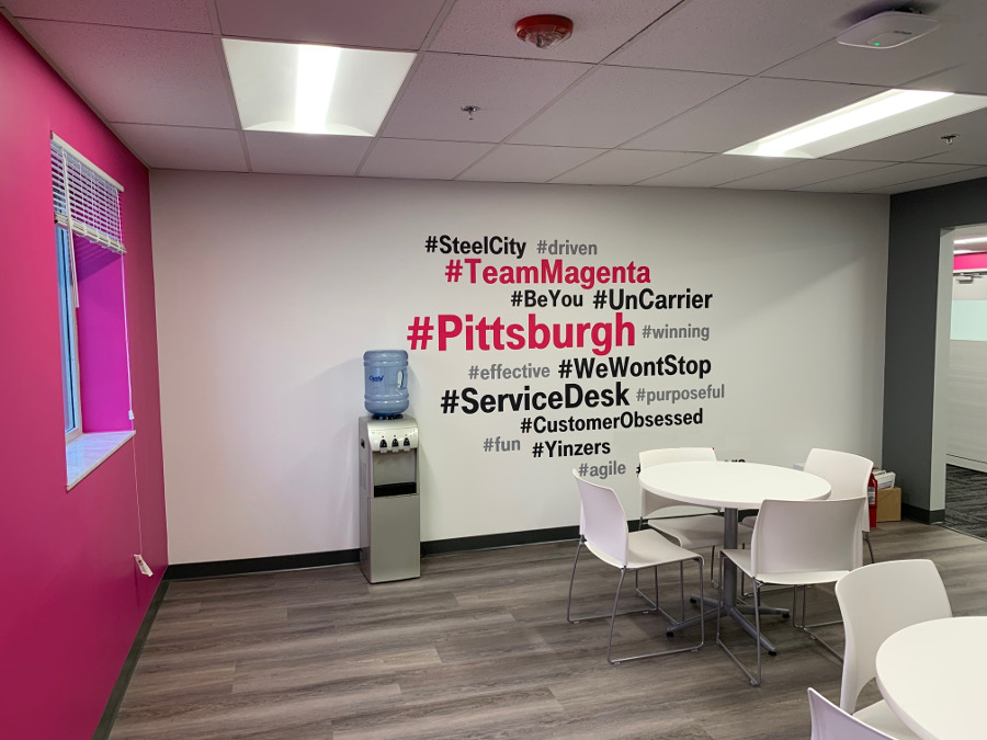 tmobile breakroom